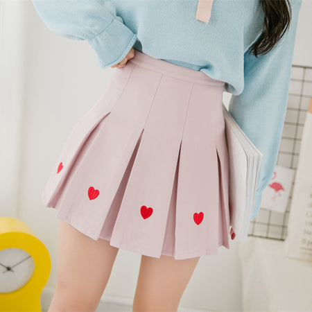 Baby Love Pleated Skirt