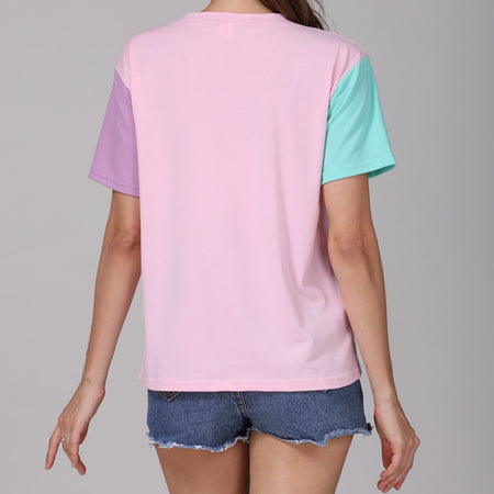 Candy Coated Color Block Tee