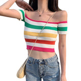 Rainbow Warrior Baby Off The Shoulder Tee
