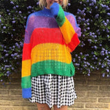 Rainbow Warrior Knit Sweater