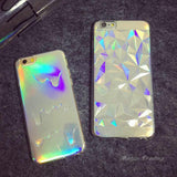 Holographic Rainbow iPhone Case