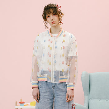 Candy Bear Sheer Jacket