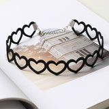 Matter of Fact Cutout Heart Choker