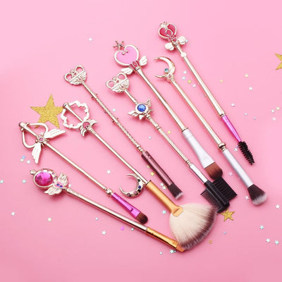Moon Prism Power Makeup Brush Set