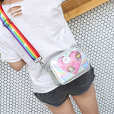 Heart of Glass Holo Shoulder Bag