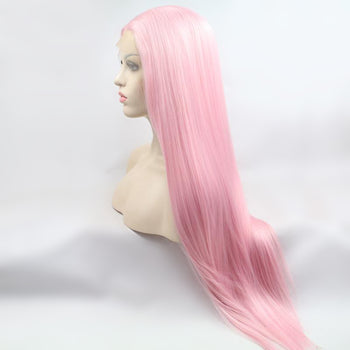Bubblegum Bitch Long Lace Front Wig