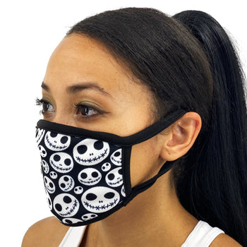 Skulls & Love Skellington Face Mask