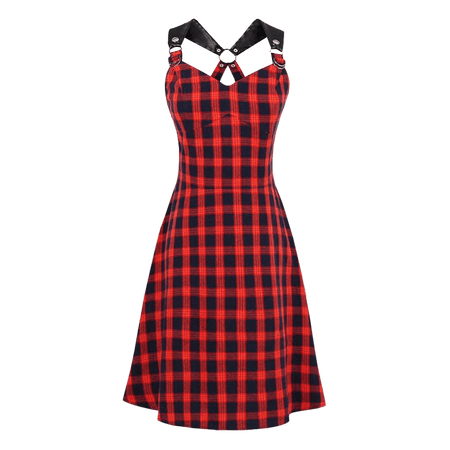 Sunday Morning Tartan Dress