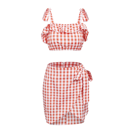 Walk the Line Gingham Set