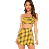 As If! Plaid Set