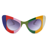 Color TV Cat Eye Sunnies