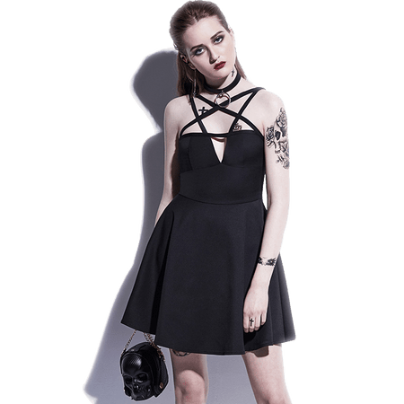 Hex-Girlfriend Pentagram Dress