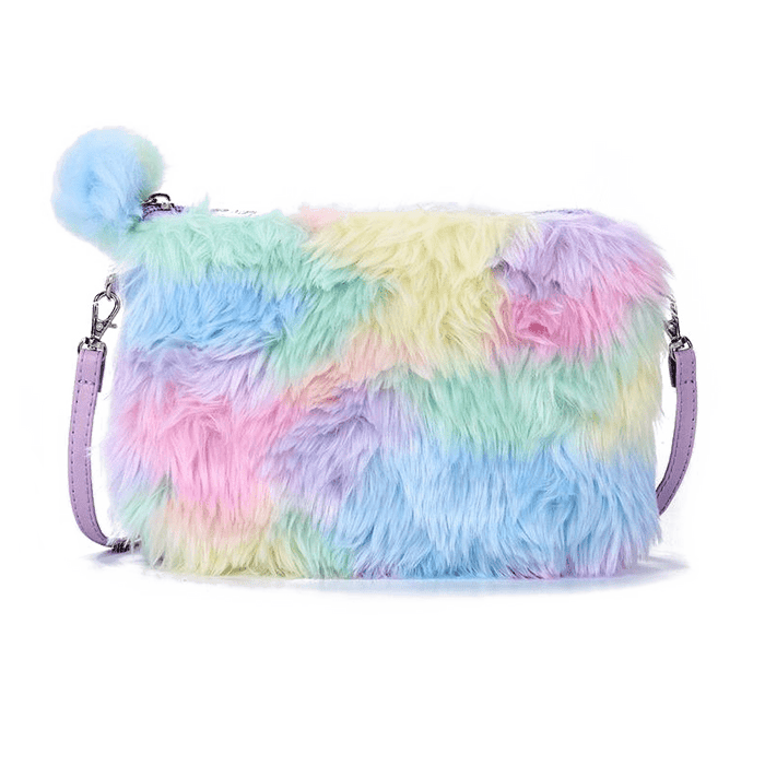 Rainbow Plush Pochette