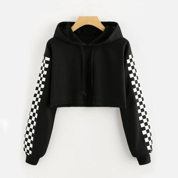 Rock Steady Cropped Hoodie