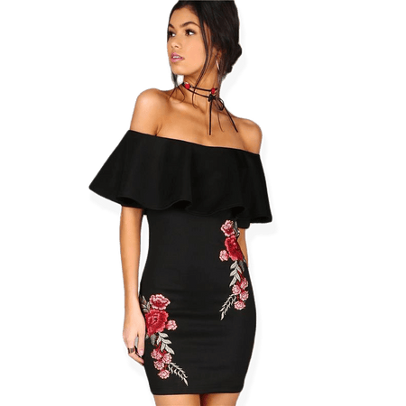 Wild Nothing Off The Shoulder Dress