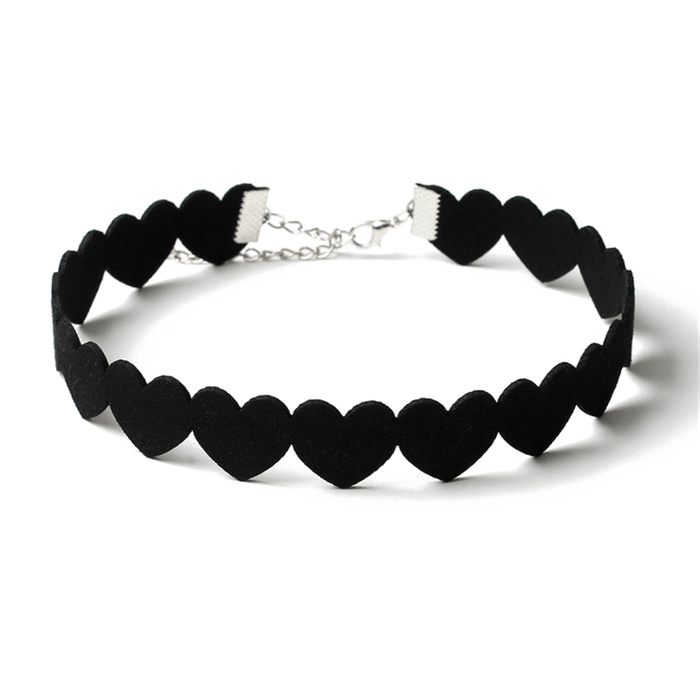 Matter of Fact Heart Choker