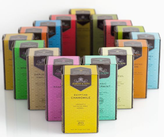 Harney & Sons Premium Teabags at Sip Sense