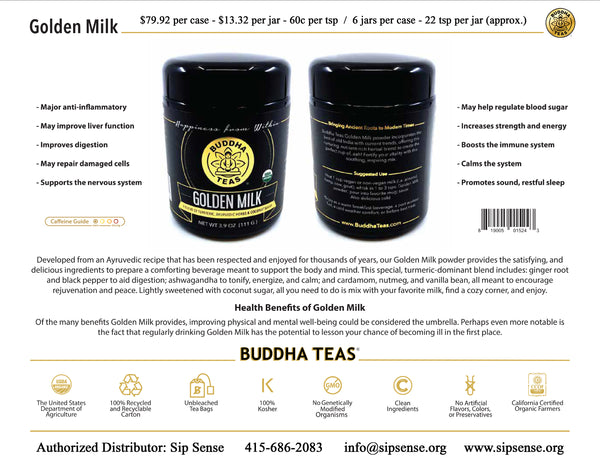 Golden Milk by Buddha Teas