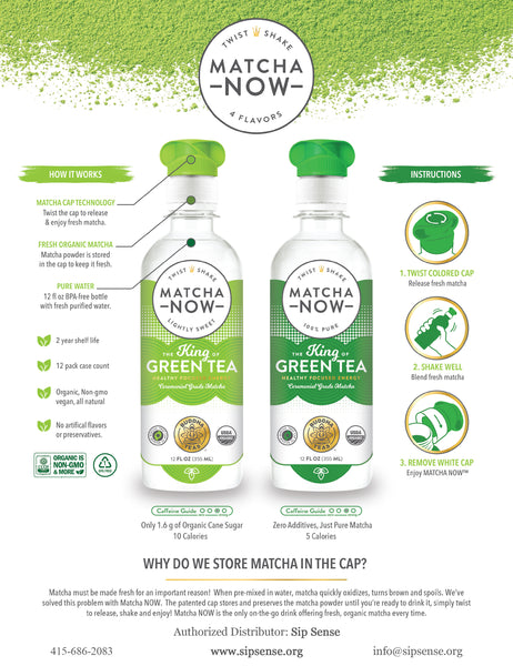 Matcha NOW by Buddha Teas