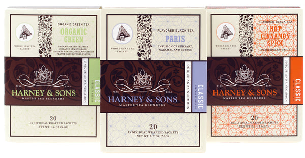 Harney & Sons Individually Wrapped Sachets at Sip Sense