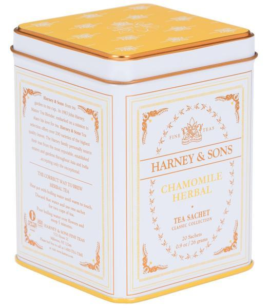 CHAMOMILE HERBAL, CLASSIC TIN OF 20 SACHETS - Sip Sense
