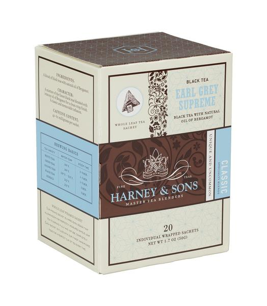 EARL GREY SUPREME, CASE OF 6 BOXES (120 INDIVIDUALLY WRAPPED SACHETS) - Sip Sense