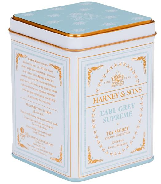 EARL GREY SUPREME, CLASSIC TIN OF 20 SACHETS - Sip Sense