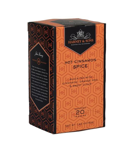 HOT CINNAMON SPICE, CASE OF 6 BOXES (120 PREMIUM TEABAGS) - Sip Sense