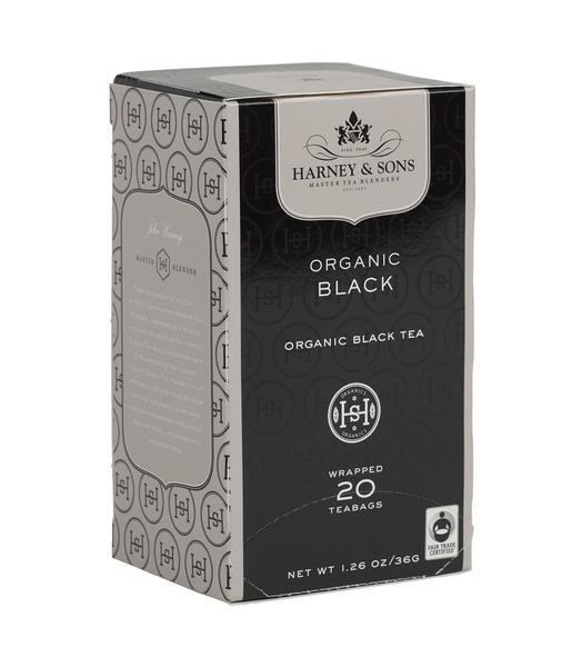 ORGANIC BLACK, BOX OF 20 PREMIUM TEABAGS - clearance - Sip Sense