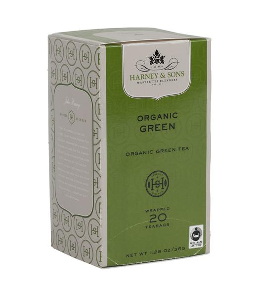 ORGANIC GREEN, CASE OF 6 BOXES (120 PREMIUM TEABAGS) - Sip Sense