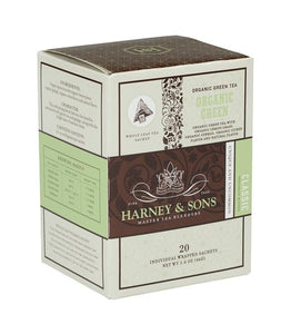 ORGANIC GREEN TEA WITH CITRUS AND GINKGO, CASE OF 6 BOXES (120 INDIVIDUALLY WRAPPED SACHETS) - Sip Sense