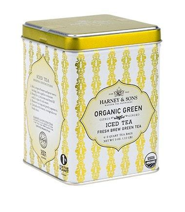 ORGANIC GREEN TEA WITH CITRUS AND GINKGO, FRESH BREW ICED TEA - Sip Sense