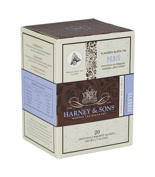 PARIS, CASE OF 6 BOXES (120 INDIVIDUALLY WRAPPED SACHETS) - Sip Sense