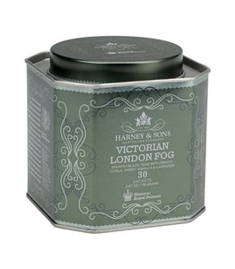 Victorian London Fog tea, Historic Royal Palaces, Tin of 30 sachets, Harney and Sons at Sip Sense