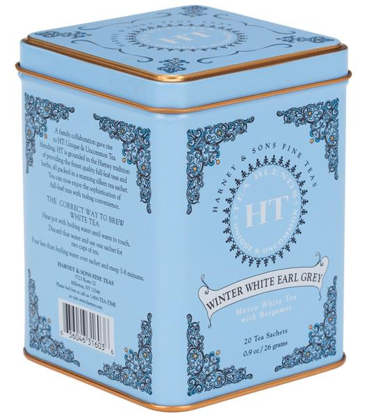 Copy of WINTER WHITE EARL GREY, TIN OF 20 SACHETS - Sip Sense