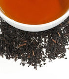 Peaches and Ginger, flavored black tea with pieces of dried ginger and peaches,  Harney and Sons - Sip Sense