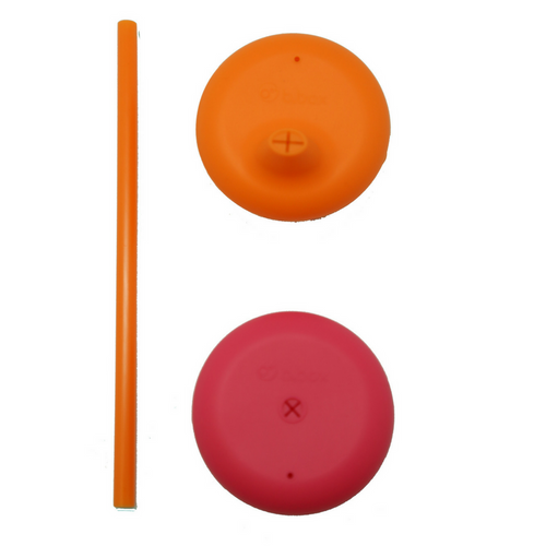 Universal Silicone Lid Set - strawberry shake