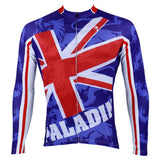 ILPALADINO the Union Jack UK Man's Long-sleeve Cycling Jersey Team Kit Jacket T-shirt Summer Spring Autumn Clothes Sportswear Suit NO.002 -  Cycling Apparel, Cycling Accessories | BestForCycling.com