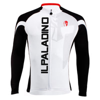 Men's Black-sleeve Long-sleeves  Cycling Jersey for Ultraviolet-Resistant Breathable and Quick Dry Outdoor Sport Hidden-Zipper White Shirt Leisure Bike Jacket Bicycle Fitness Clothing for Winter 002(velvet) -  Cycling Apparel, Cycling Accessories | BestForCycling.com