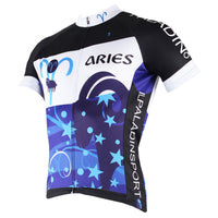 Ilpaladino Constellation Series 12 Horoscopes ARIES Forward Man's Short-sleeve Cycling Jersey Team Pro Cycle Jacket T-shirt Summer Spring Clothes Leisure Sportswear Apparel  Signs of the Zodiac NO.259 -  Cycling Apparel, Cycling Accessories | BestForCycling.com