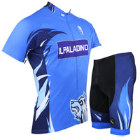 ILPALADINO Snow Wolf Man's Short-sleeve Blue Cycling Jersey Team Kit Jacket T-shirt Summer Suit  Spring Autumn Clothes Sportswear NO.003 -  Cycling Apparel, Cycling Accessories | BestForCycling.com