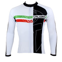 Men's Sportwear Quick-dry Stylish Long-sleeve Cycling Jersey Breathable Outdoor Sport Bike White Shirt with Black Patchwork Fall Autumn Shirt 011(velvet) -  Cycling Apparel, Cycling Accessories | BestForCycling.com