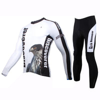 ILPALADINO  Men's Long Sleeves Cycling Clothing Suits with Tights Pro Cycle Clothing Racing Apparel Outdoor Sports Leisure Biking shirt  (Velvet) NO.303 -  Cycling Apparel, Cycling Accessories | BestForCycling.com