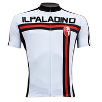 ILPALADINO White Cycling Jersey for Men Road Bike Breathable Shirt for Summer Apparel Outdoor Sports Gear Leisure Biking T-shirt 004 -  Cycling Apparel, Cycling Accessories | BestForCycling.com