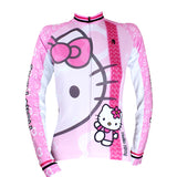 HELLO KITTY  Women's  Cycling Suit/Jersey T-shirt Summer Pink Kit NO.022 -  Cycling Apparel, Cycling Accessories | BestForCycling.com