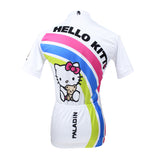 HELLO KITTY Princess Women's Top Cycling Jersey Jacket T-shirt Summer Spring Autumn Clothes Sportswear Cartoon World White Apparel NO.025 -  Cycling Apparel, Cycling Accessories | BestForCycling.com