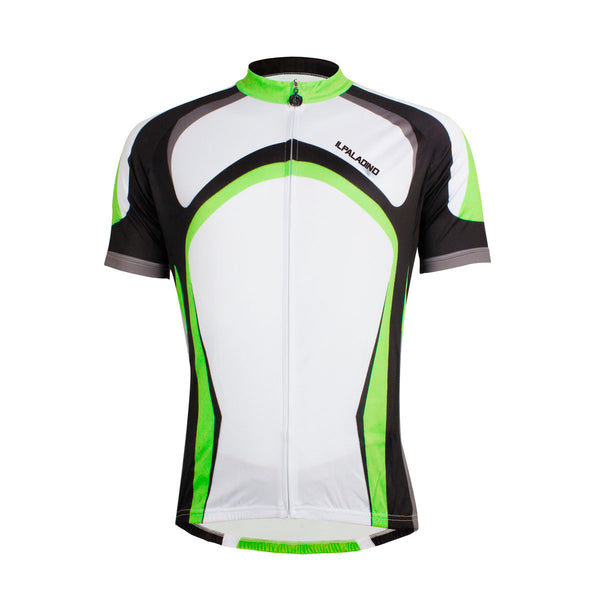 dec5ca256 ILPALADINO Fluorescent Green Man s Short-sleeve Cycling Jersey Team Jacket T -shirt Summer Suit