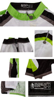 Fluorescent Green Man's Short-sleeve Cycling Jersey Summer NO.032 -  Cycling Apparel, Cycling Accessories | BestForCycling.com