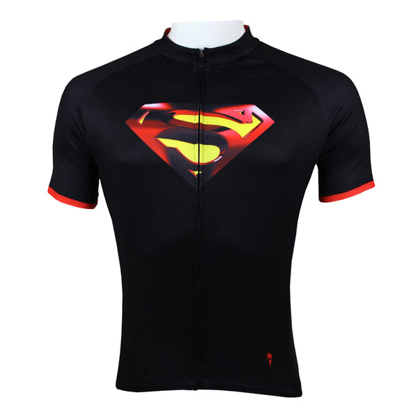 Detective Comics Super Hero Short/Long-sleeve Summer Spring Men's Cycling Jersey Suit T-shirt Summer Spring Autumn Clothes Team Kit Sportswear Superman NO.035 -  Cycling Apparel, Cycling Accessories | BestForCycling.com