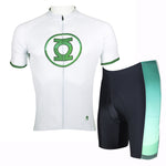 Detective Comics Super Hero  Green Lantern Men's Short/Long-sleeve Cycling Jersey Jacket Bicycling Suit T-shirt Summer Spring Autumn Clothes Sportswear Cycle Racing NO.037 -  Cycling Apparel, Cycling Accessories | BestForCycling.com